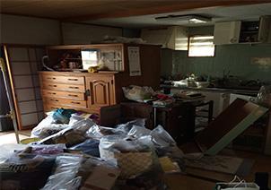 【愛知県西尾市】不用品回収&ハウスクリーニングの作業