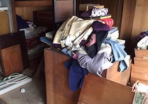 【愛知県名古屋市北区】リフォームのため古くなった大物家具・大量の衣類回収