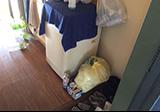 【愛知県尾張旭市】引越しゴミの当日回収、玄関・キッチンのお片付け