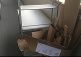 【愛知県名古屋市北区】PCデスクとダンボールゴミの回収