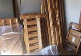 【愛知県名古屋市熱田区】解体後のベッドフレーム木材などの回収