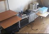 【愛知県名古屋市東区】PCデスク、TV台、椅子、折りテーブル、コンポなど家具数点の回収