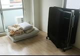 【愛知県尾張旭市】引越し先に持っていかない折畳式ベッドと布団の回収