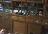 【愛知県名古屋市東区】食器棚2個とその中に入っていたお皿・お椀・コップの丸ごと回収
