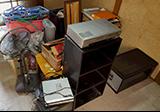 【愛知県名古屋市熱田区】引っ越しによるDVDデッキ、本棚、扇風機など不用品の処分