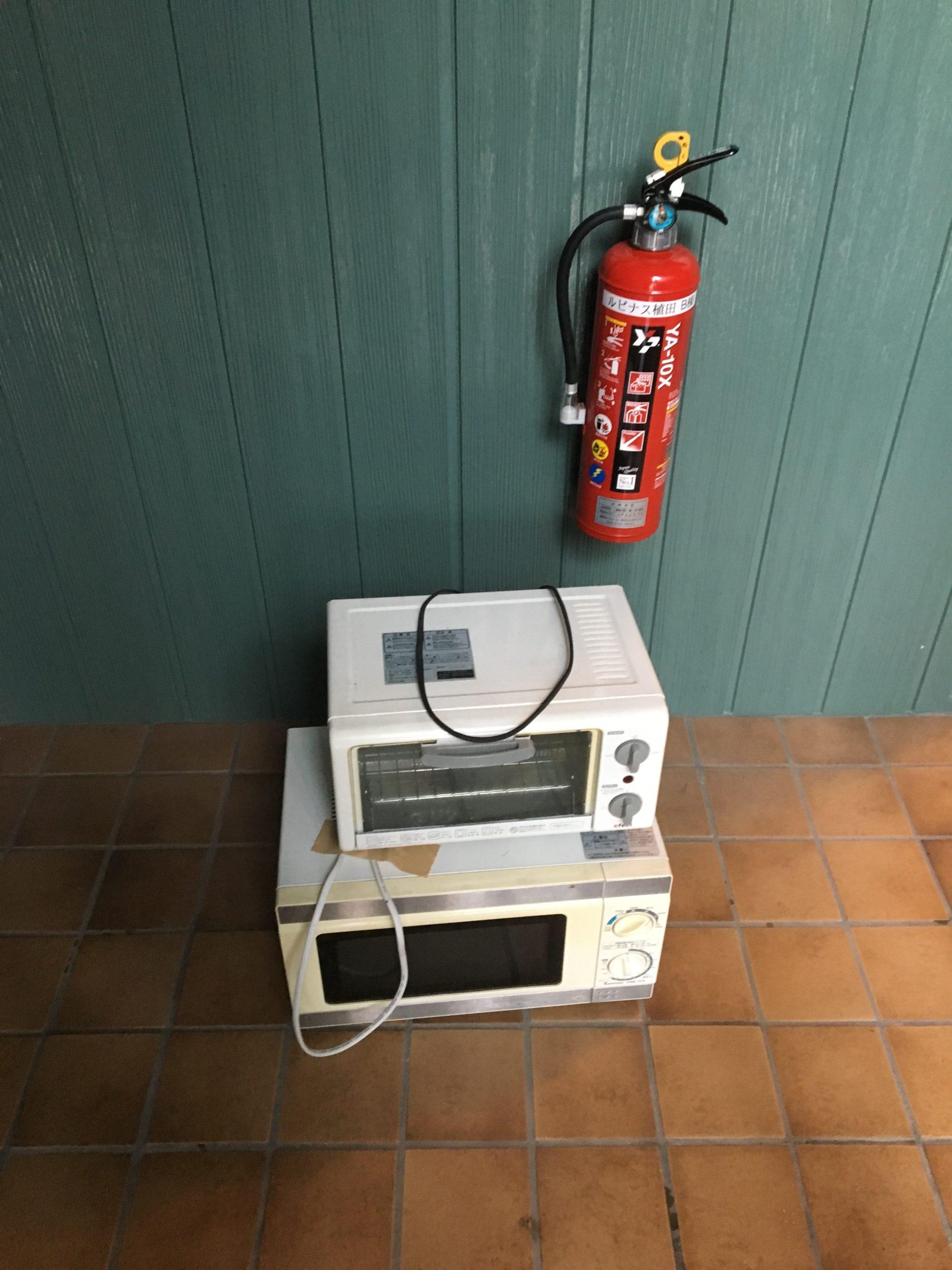 【愛知県名古屋市守山区】買い替えに伴う電子レンジ・トースターの処分