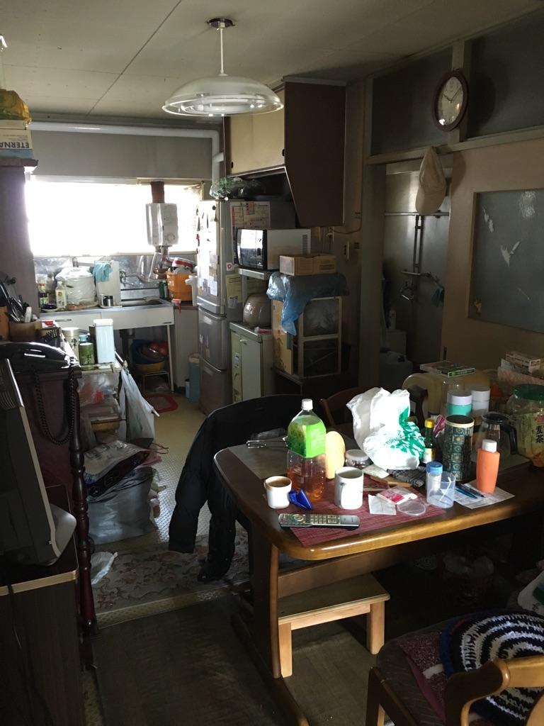 【愛知県名古屋市東区】遺品整理に伴う家財一式の不用品回収と掃除