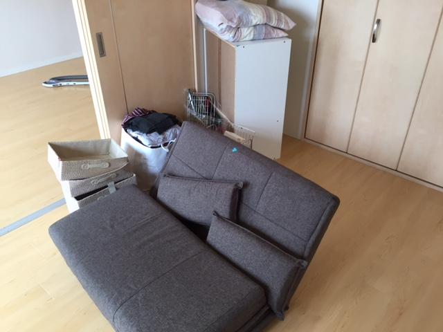 【愛知県名古屋市熱田区】引越し先で不要になるソファや生活雑貨の出張回収
