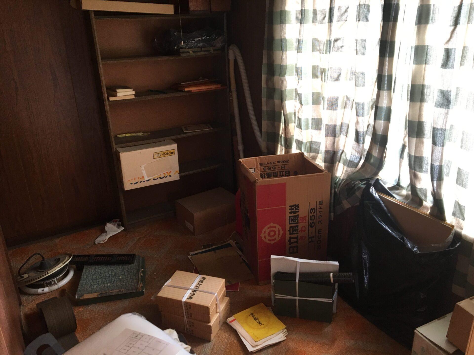 【愛知県豊田市】家屋解体前の不用品・粗大ゴミの丸ごと処分