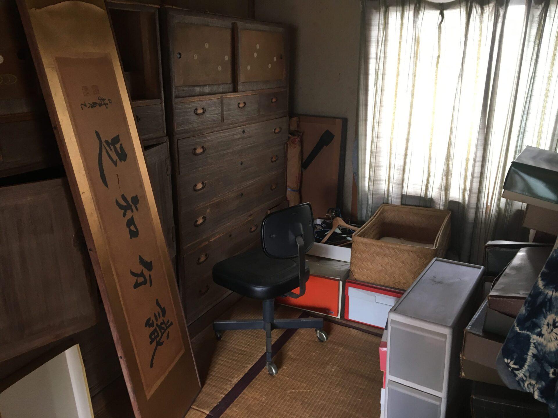 【愛知県半田市】身内の方のお引越し時に出た不用品・家具などの処分