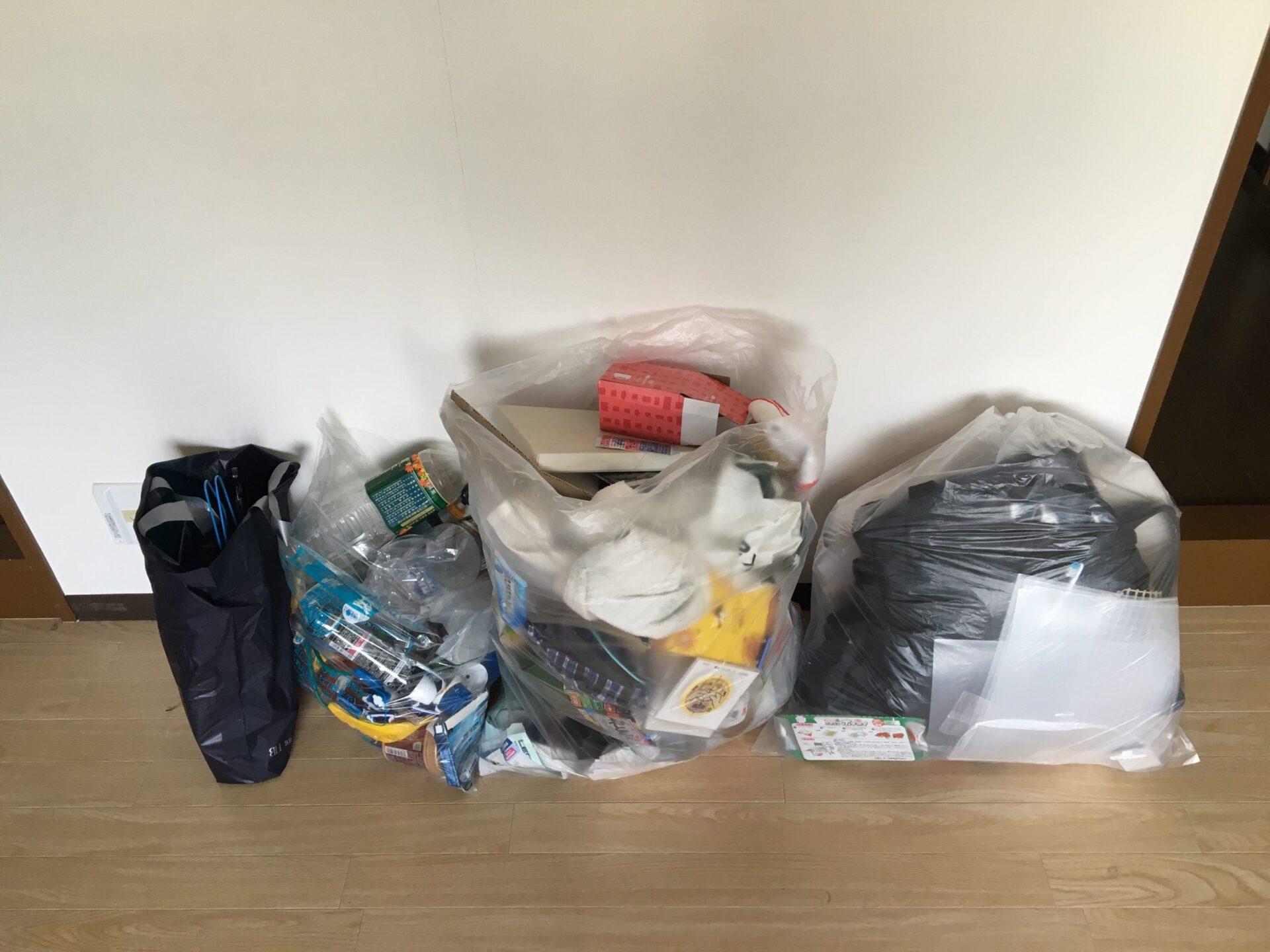 【愛知県名古屋市中川区】引越し日が自治体の回収日ではなく余った袋ゴミの引き取り