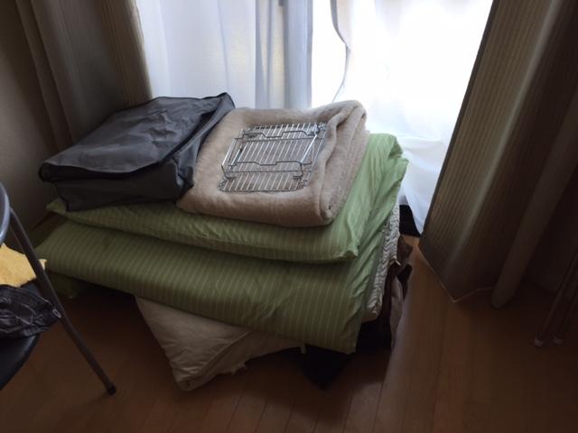 【愛知県尾張旭市】新品ベッドの購入に伴い要らなくなった布団の処分