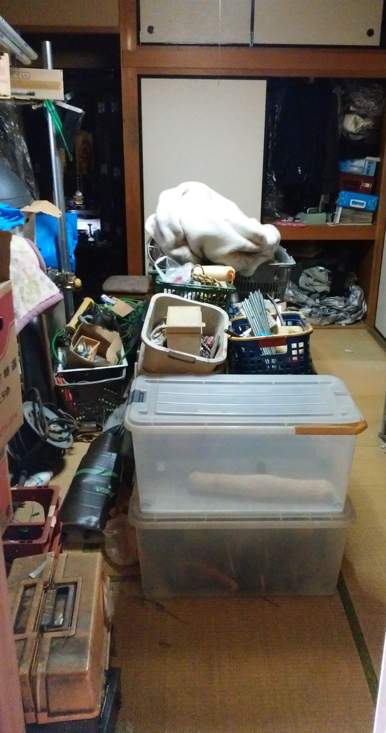 【愛知県名古屋市千種区】工具など小物類の回収