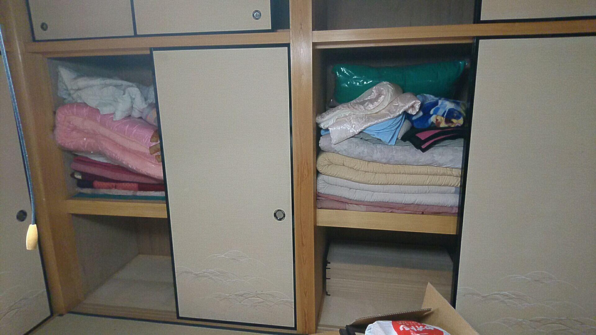 【愛知県名古屋市東区】寝具一式の回収