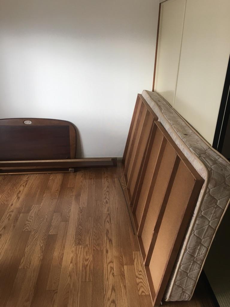 【愛知県名古屋市中川区】シングルベッドの回収