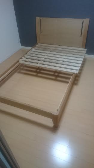 【愛知県名古屋市北区】ベッド枠の回収