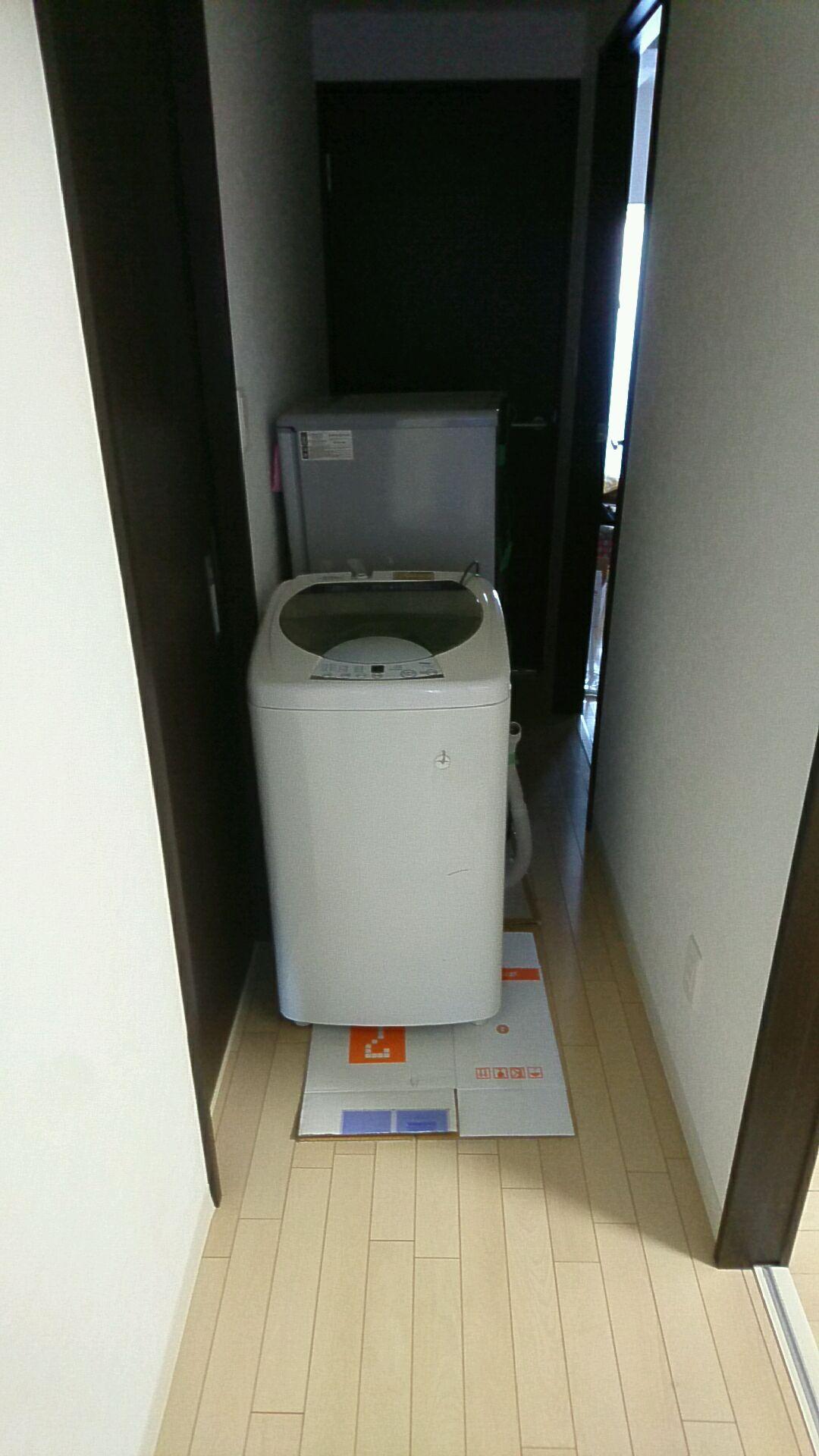 【愛知県名古屋市中村区】洗濯機と冷蔵庫の回収