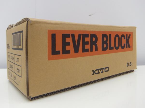 新品 未使用品 KITO キトー レバーブロック LB008