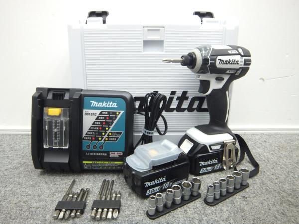 makita マキタ 充電式インパクトドライバ TD149DRFXW 18V 3.0Ah バッテリ BL1830×2本 充電器 DC18RC ケース付