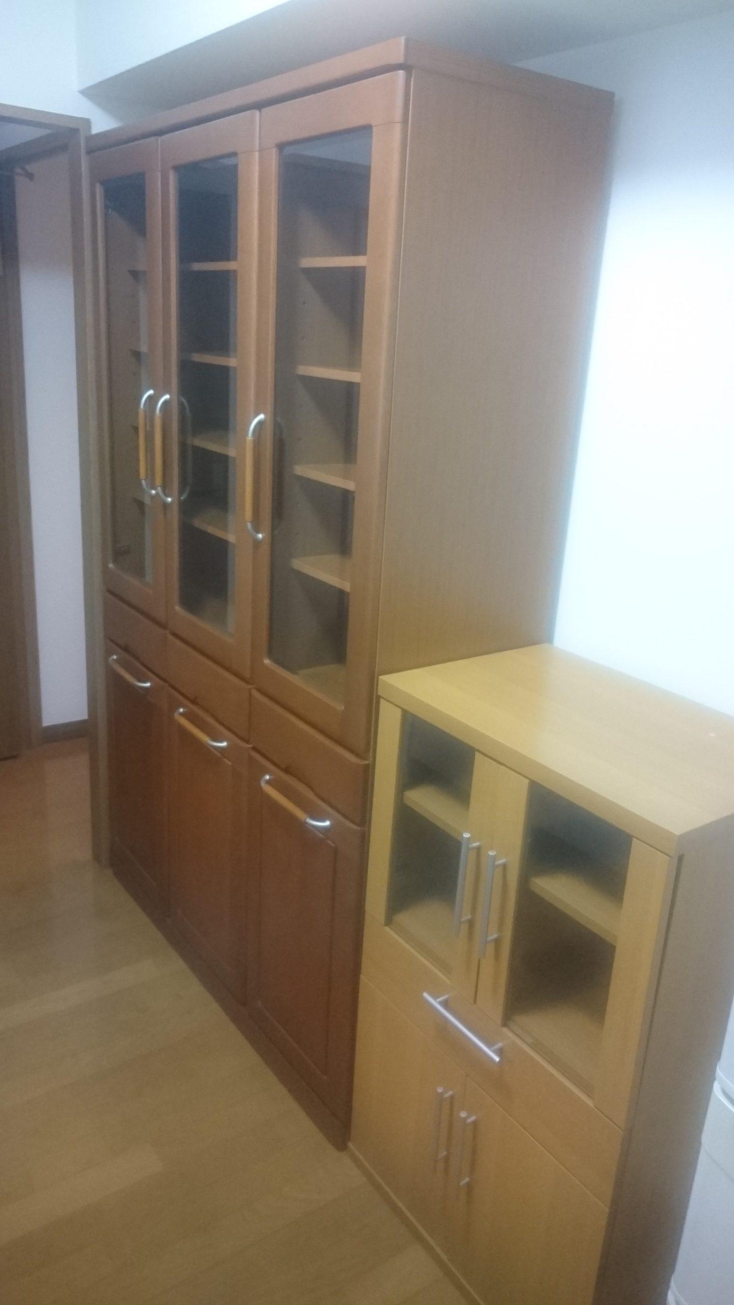 【愛知県名古屋市守山区】食器棚の出張回収
