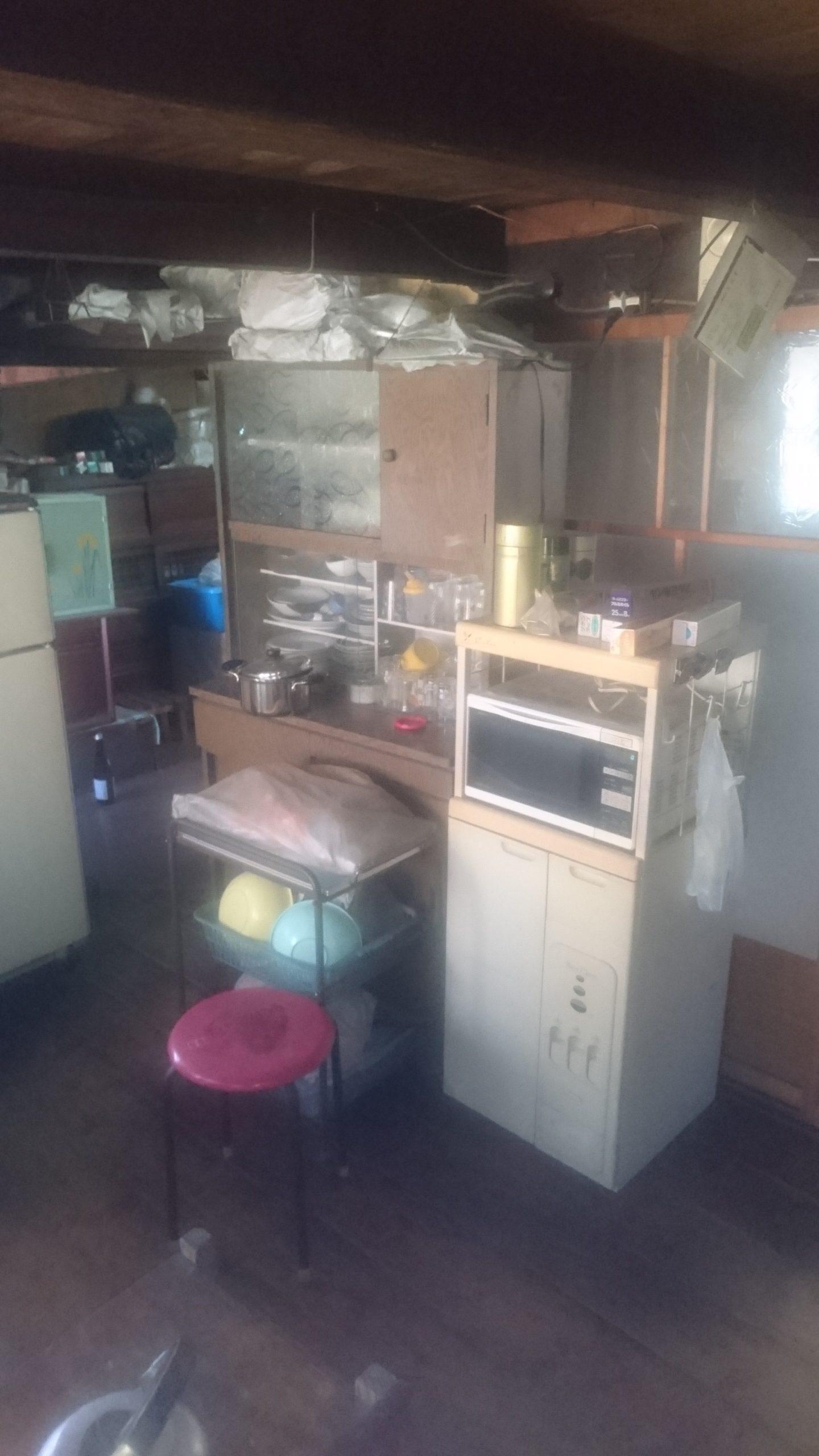 【愛知県名古屋市緑区】食器棚やレンジ台などの回収