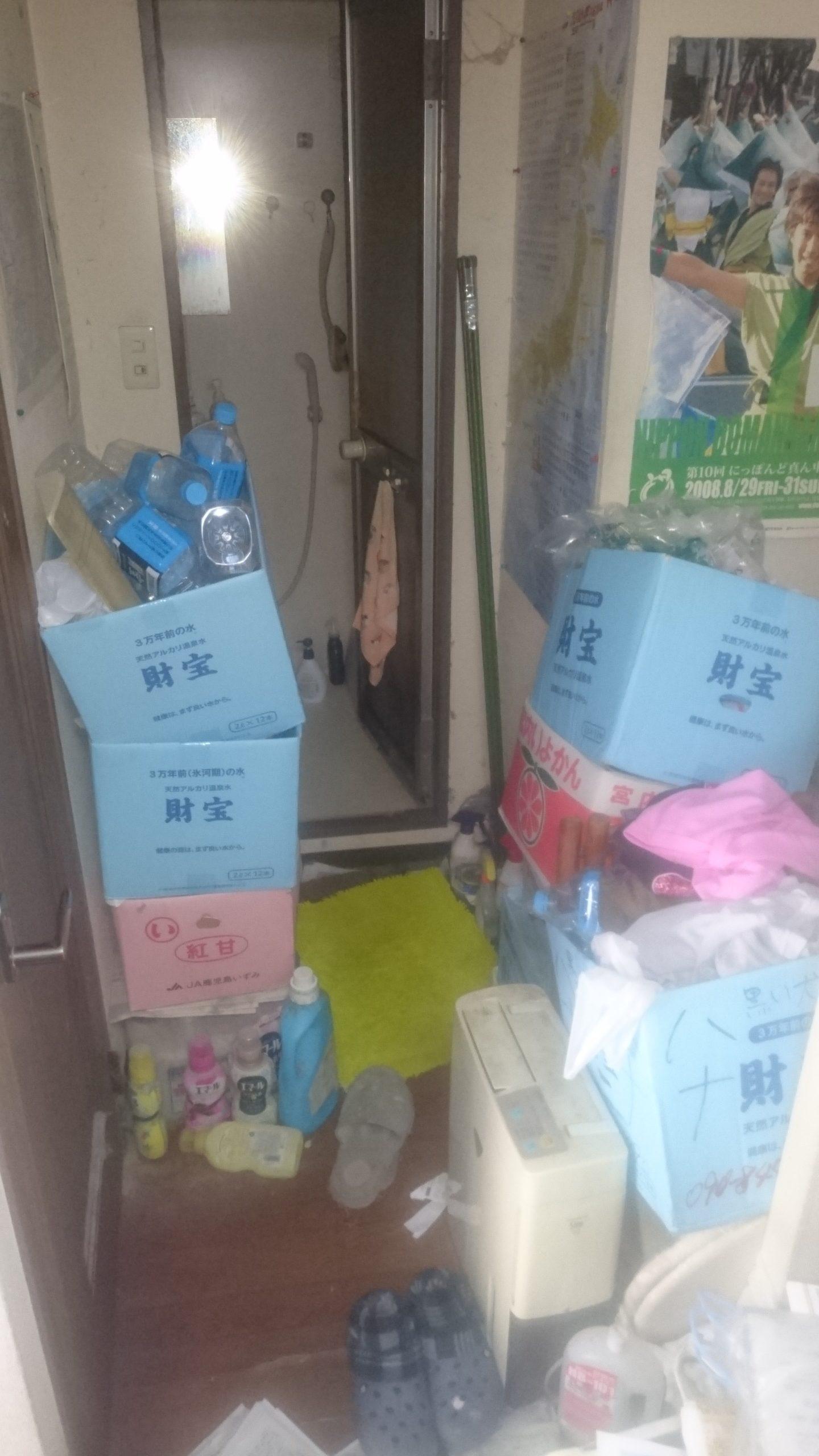 【愛知県名古屋市緑区】洗面所まわりの不用品の回収