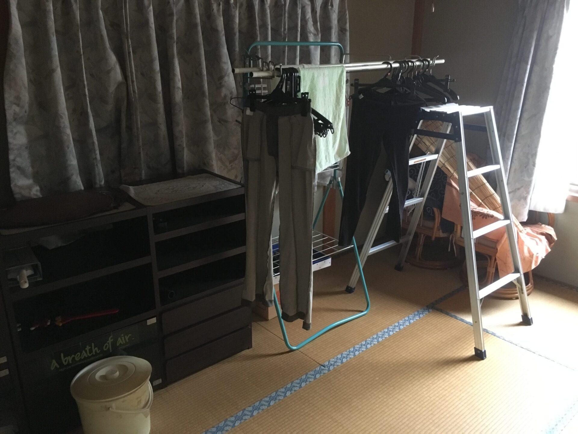 【愛知県岡崎市の不用品回収】物干しやサイドボードなどの処分