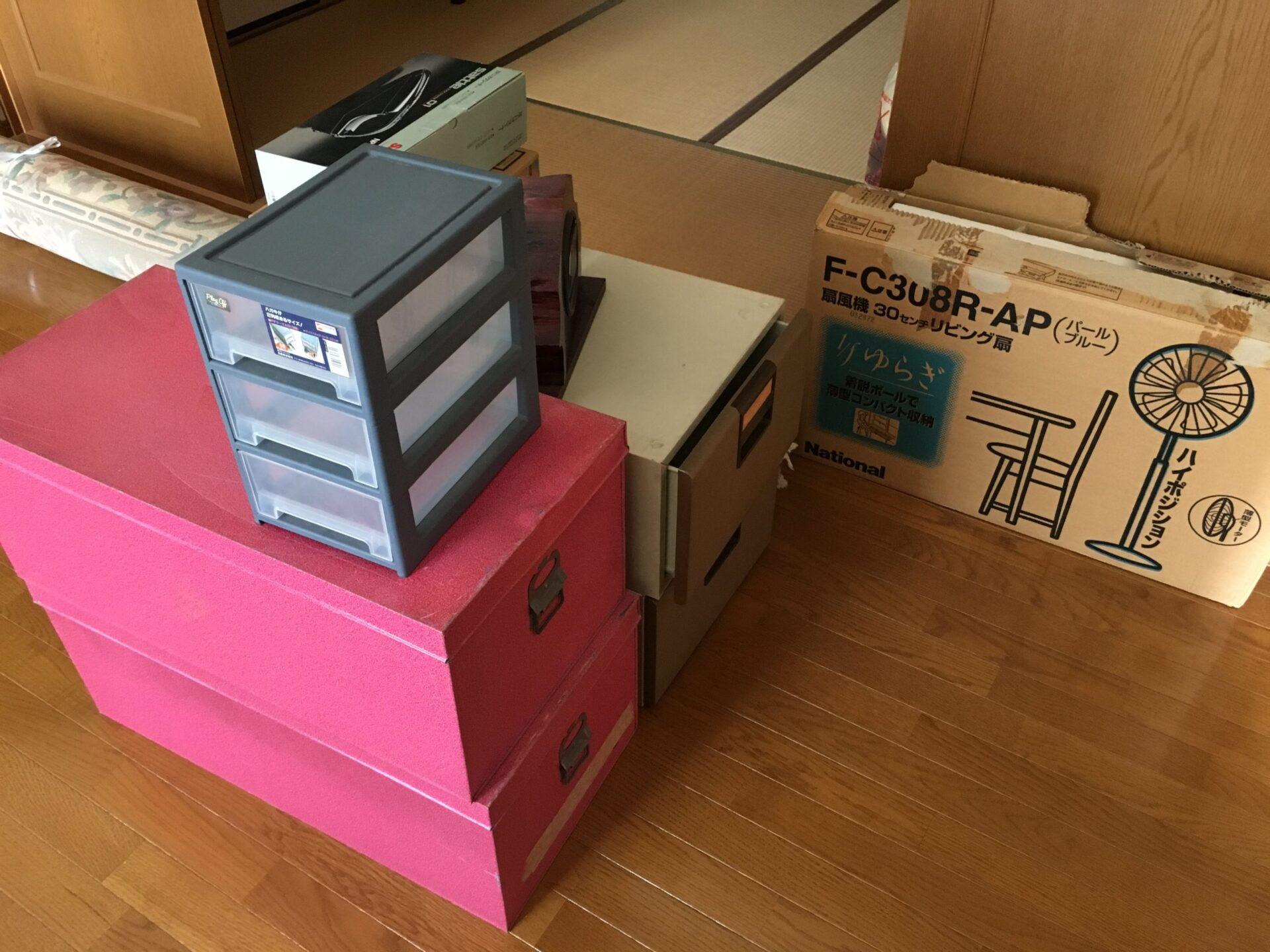 【愛知県名古屋市千種区】ブリキ製衣装ケースなどの処分