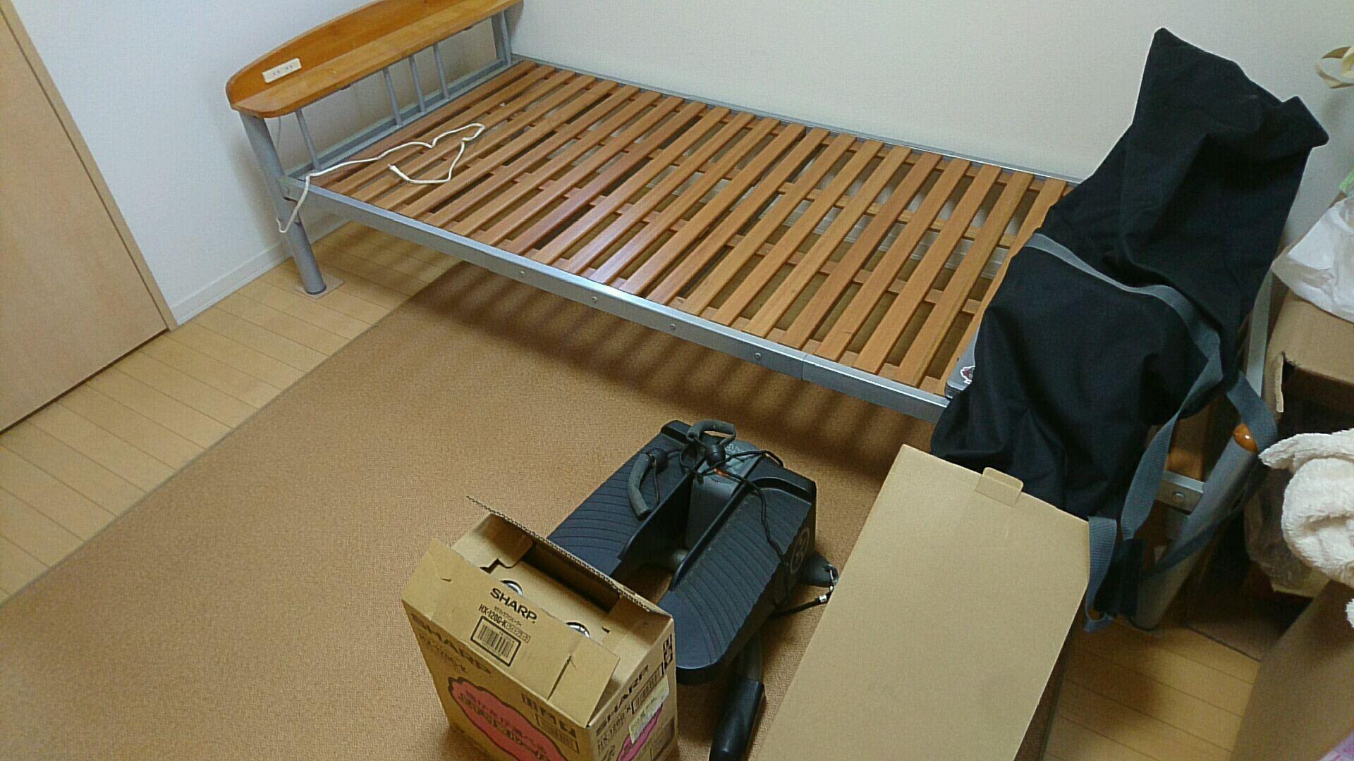 【愛知県名古屋市瑞穂区】ベッドや健康器具、スノボーの回収