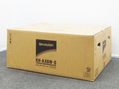 新品 未使用 SHARP シャープ KH-AX6W-S IHクッキングヒーター