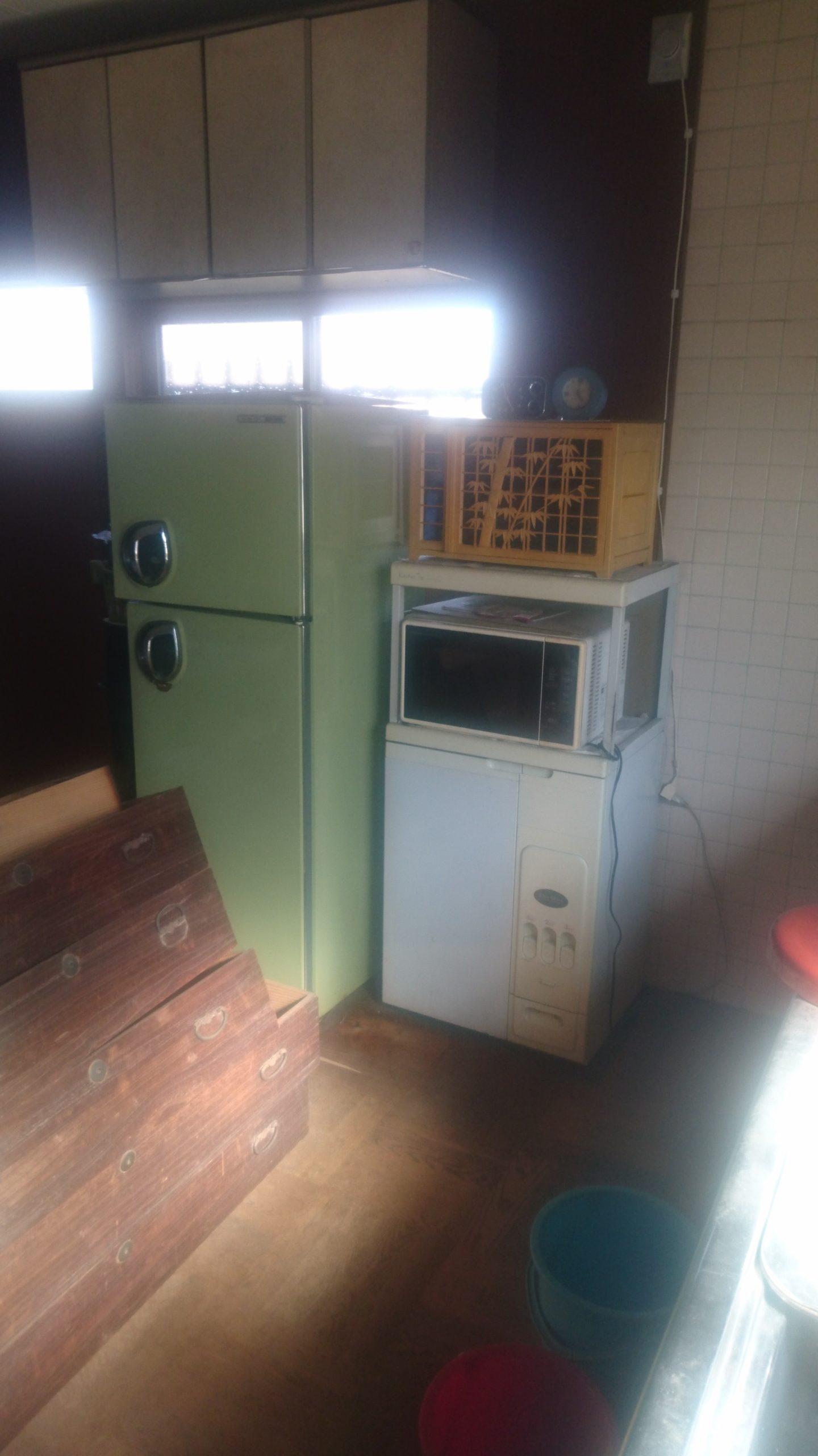 【愛知県名古屋市中村区】冷蔵庫やレンジ台の回収