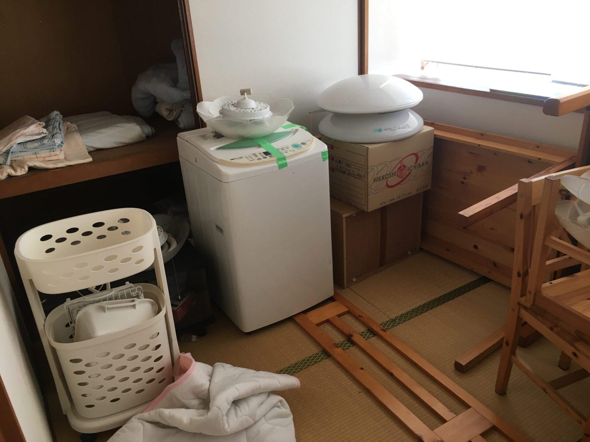 【愛知県名古屋市北区】洗濯機やテーブル等の処分
