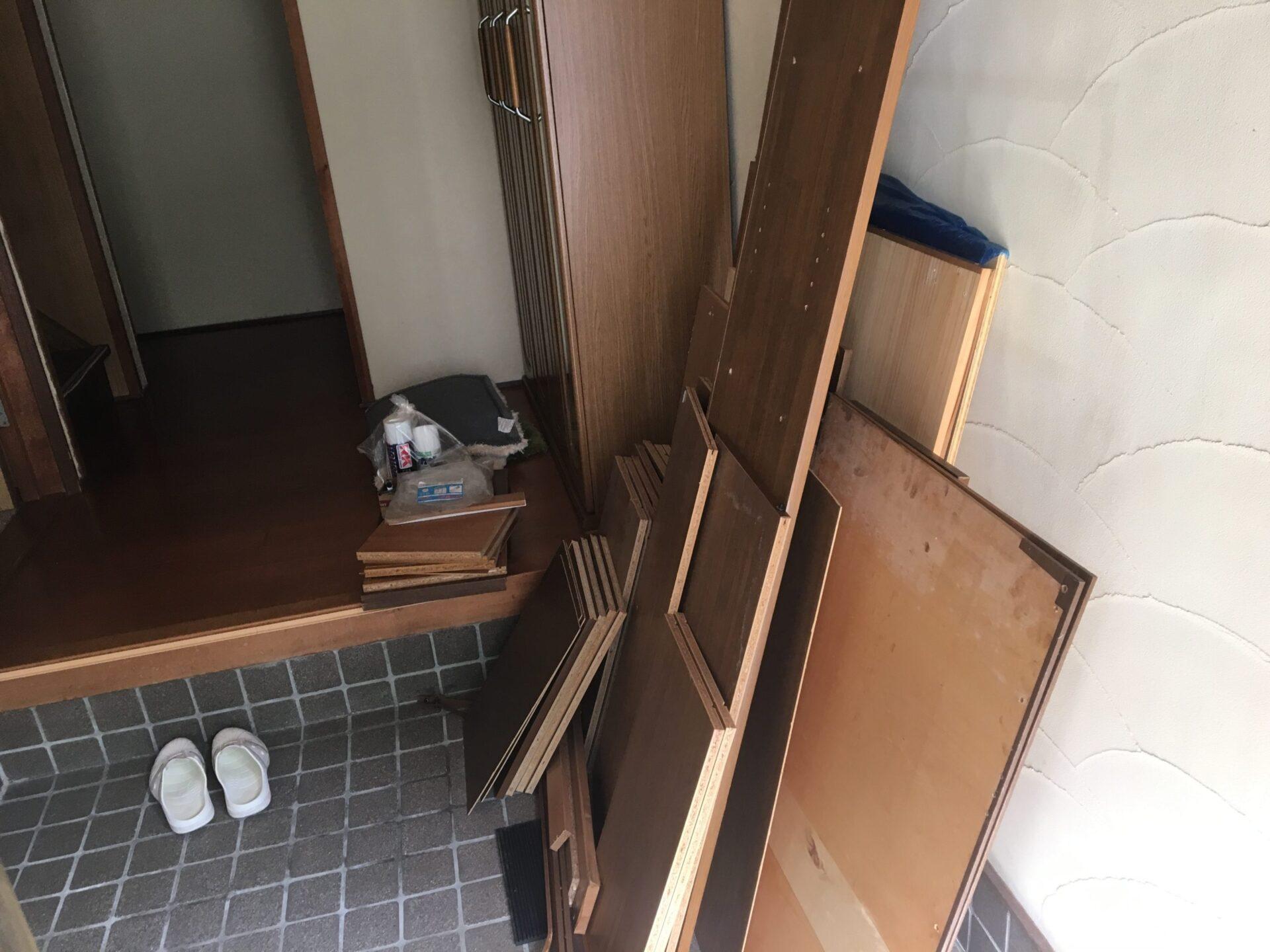 【愛知県名古屋市西区】木材の出張回収