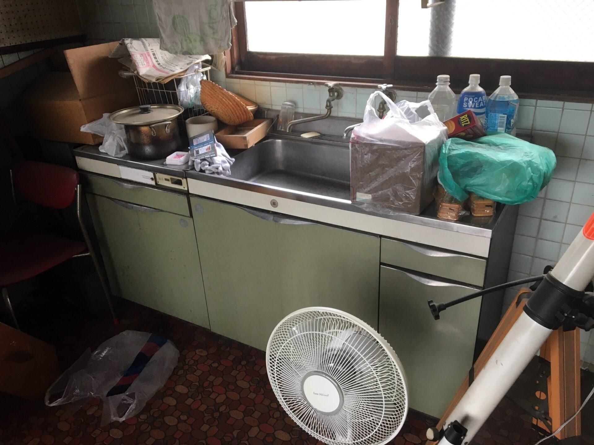【愛知県名古屋市瑞穂区】キッチン回りの不要品回収