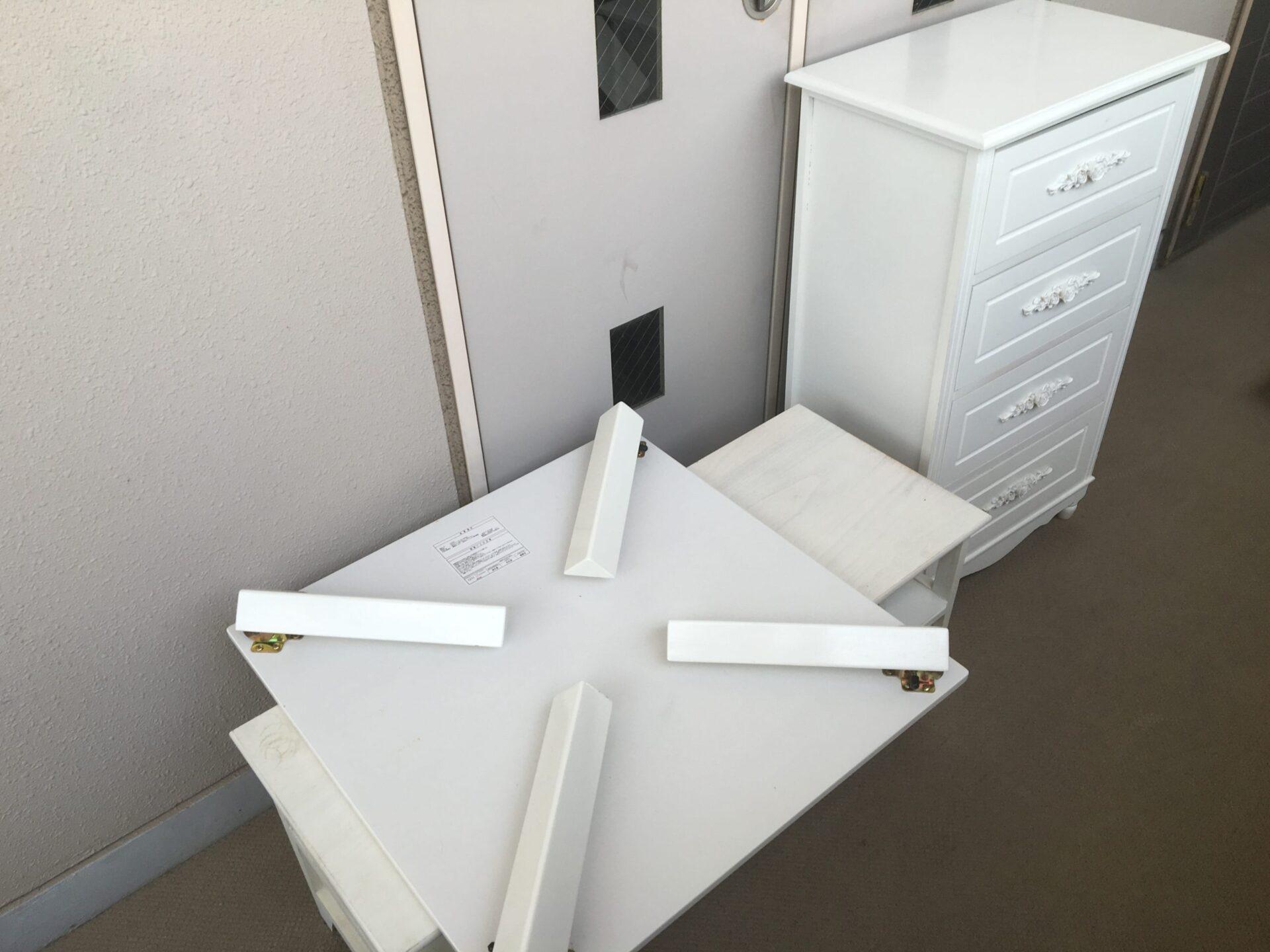 【愛知県名古屋市東区】小家具の出張回収