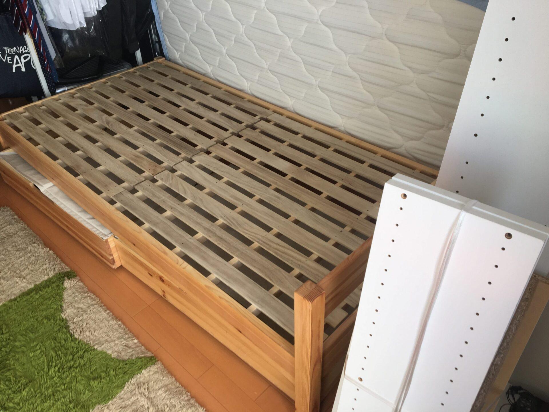 【愛知県名古屋市千種区】ベッド枠の出張回収
