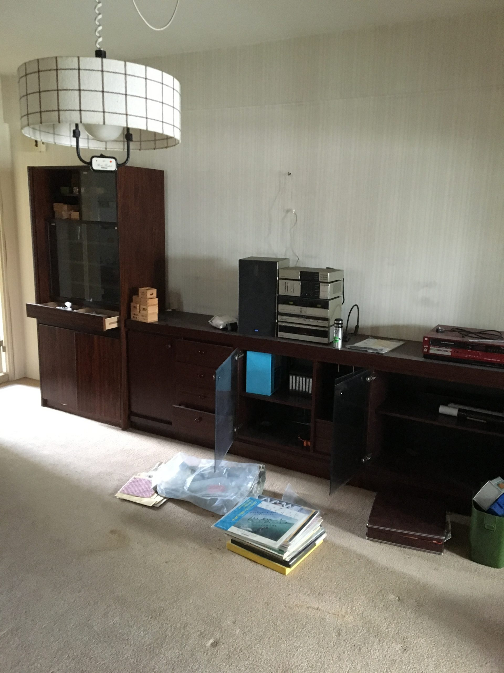 【愛知県名古屋市瑞穂区】収納棚や音響機器の回収