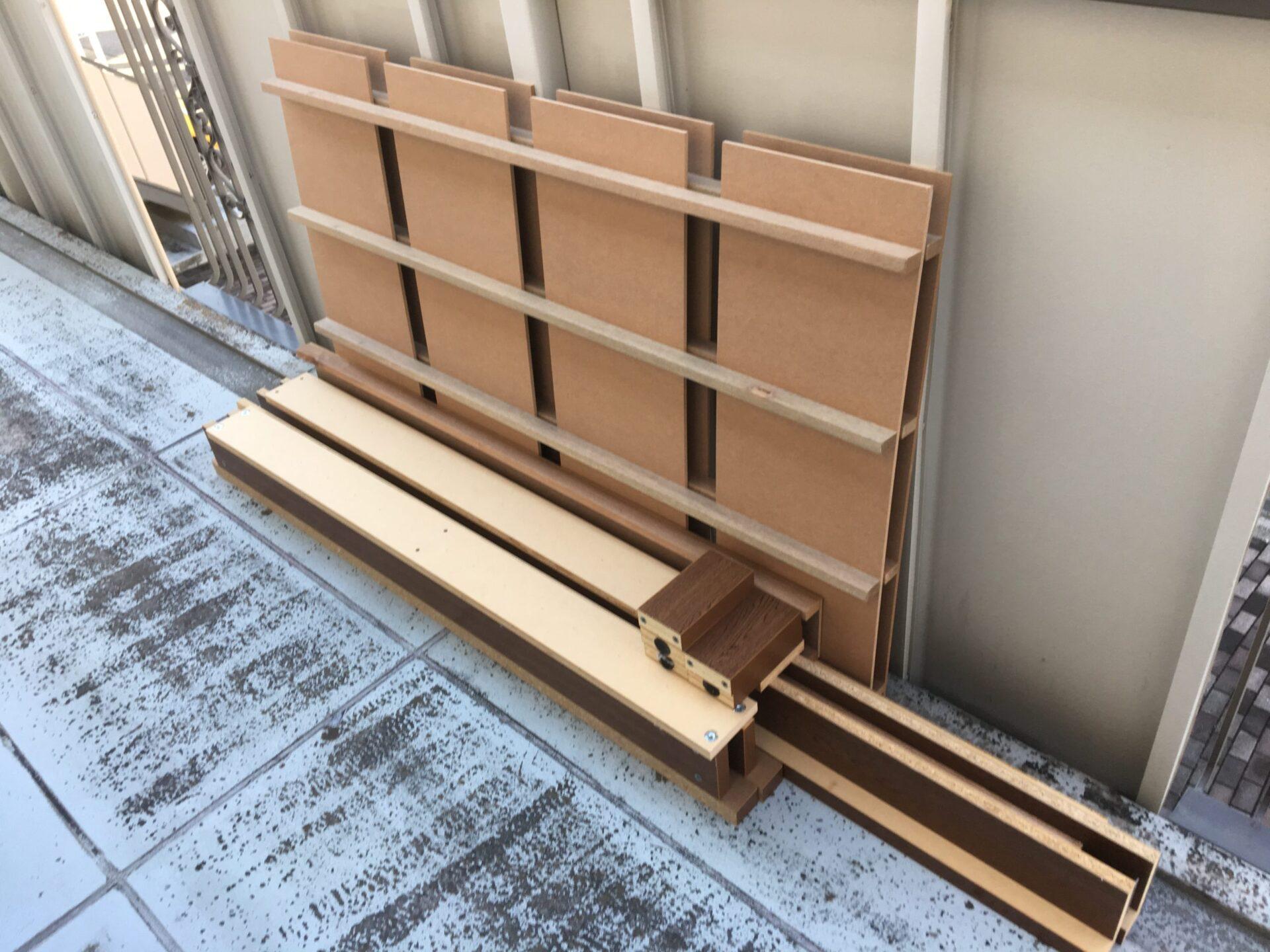 【愛知県名古屋市名東区】ベッド枠の出張回収