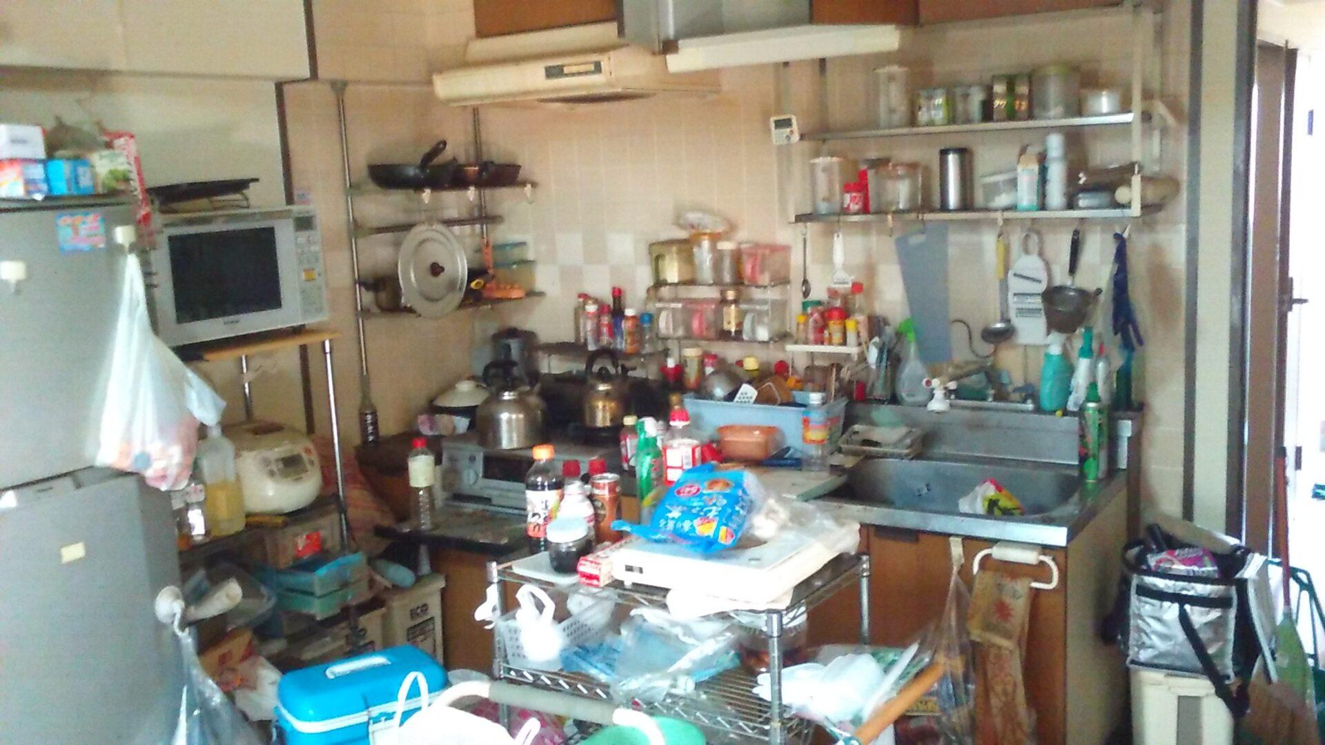 【愛知県名古屋市名東区】引っ越しに伴う生活用品などの片付け