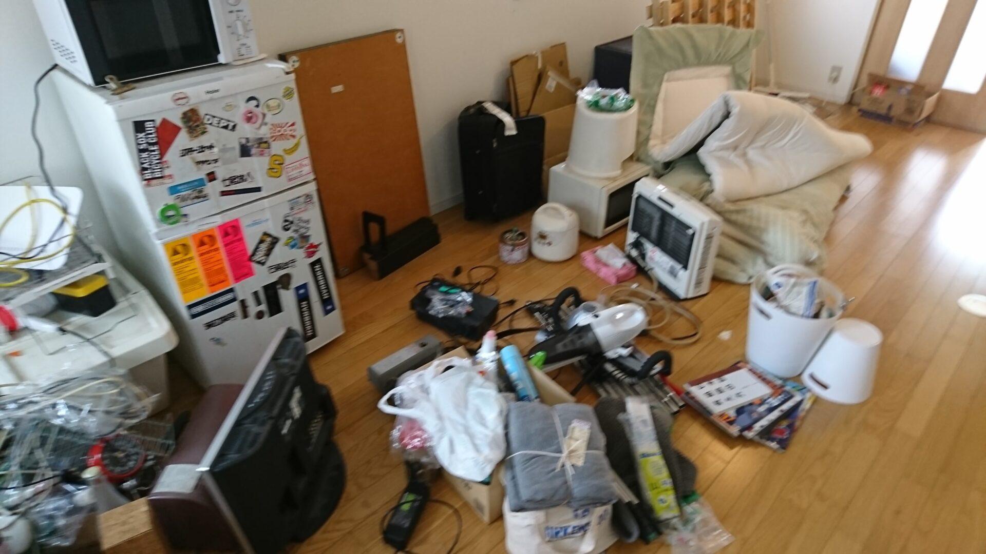 【愛知県名古屋市中川区】小家電や布団などの出張回収