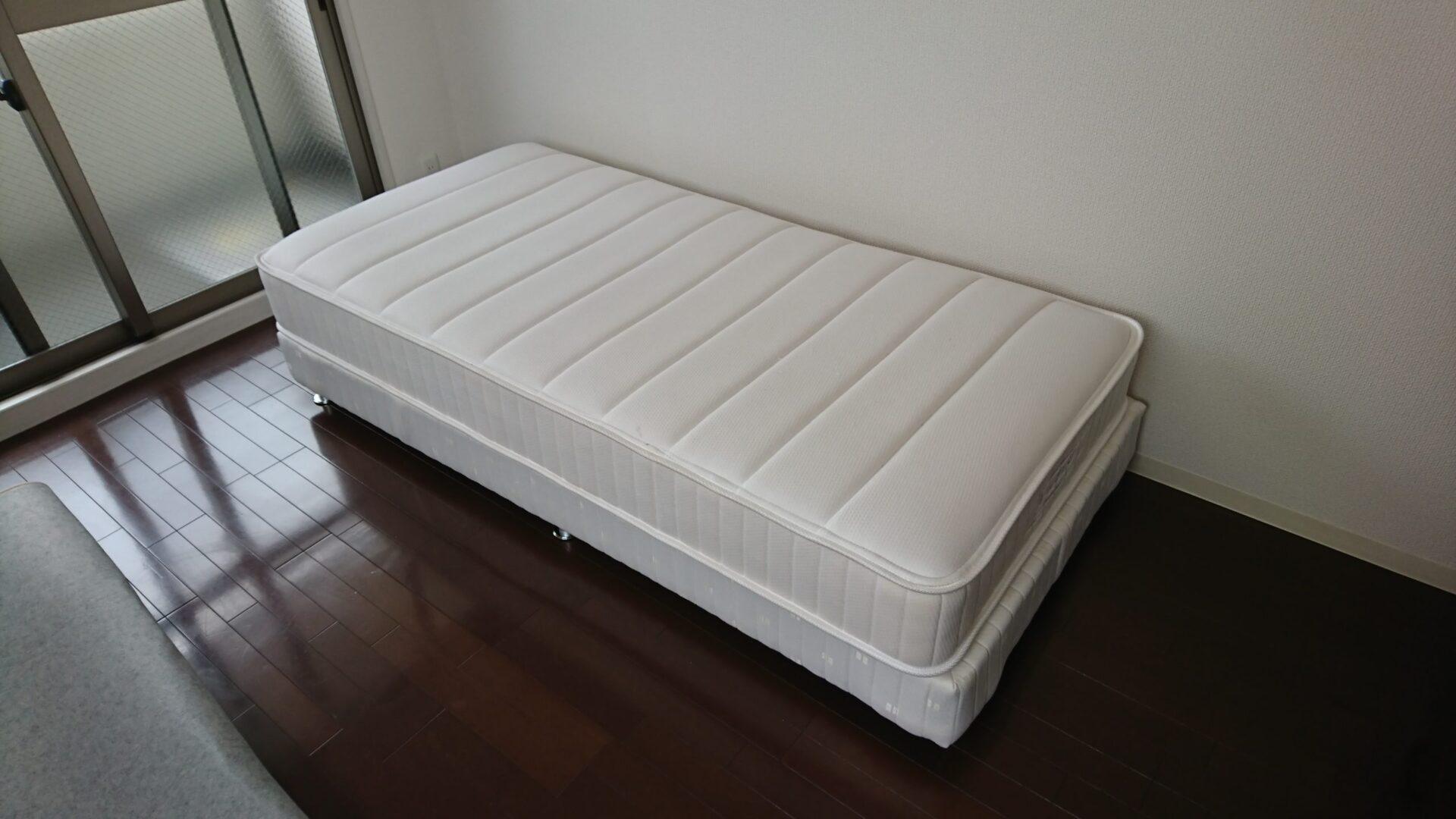 【愛知県名古屋市熱田区】シングルベッドの出張回収