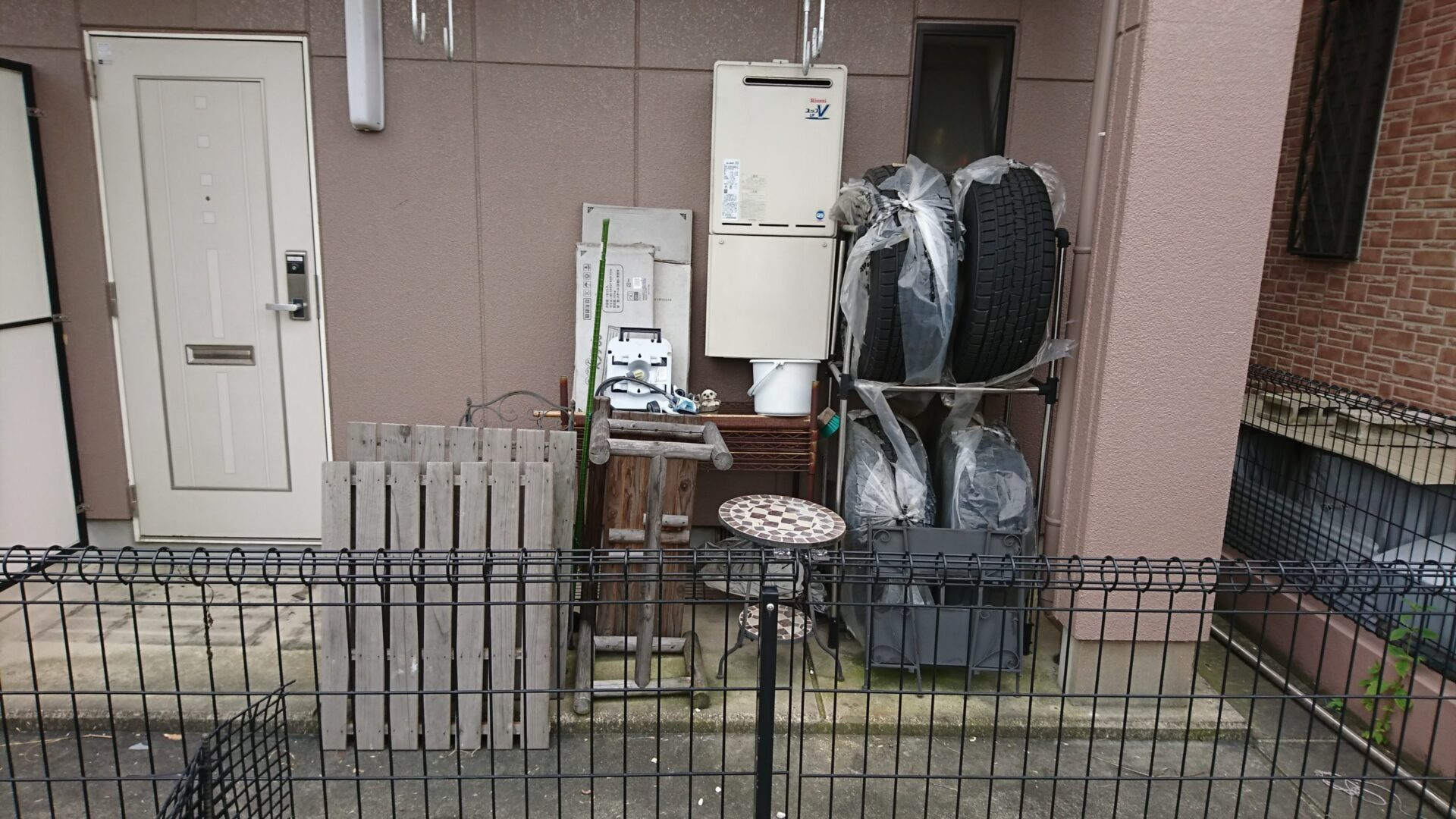 【愛知県名古屋市瑞穂区】タイヤや木材などの出張回収