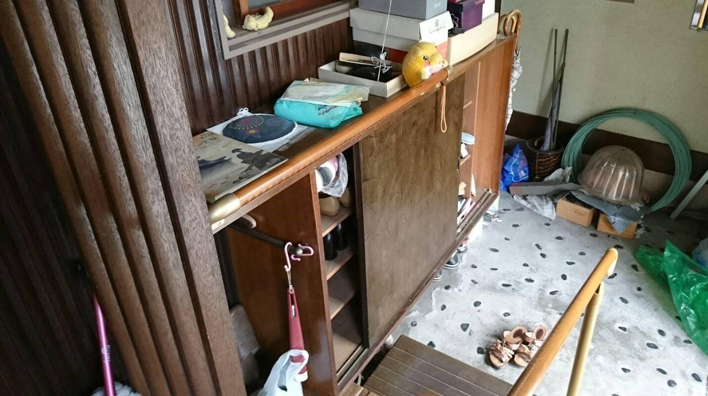 【愛知県名古屋市名東区】玄関回りの出張回収