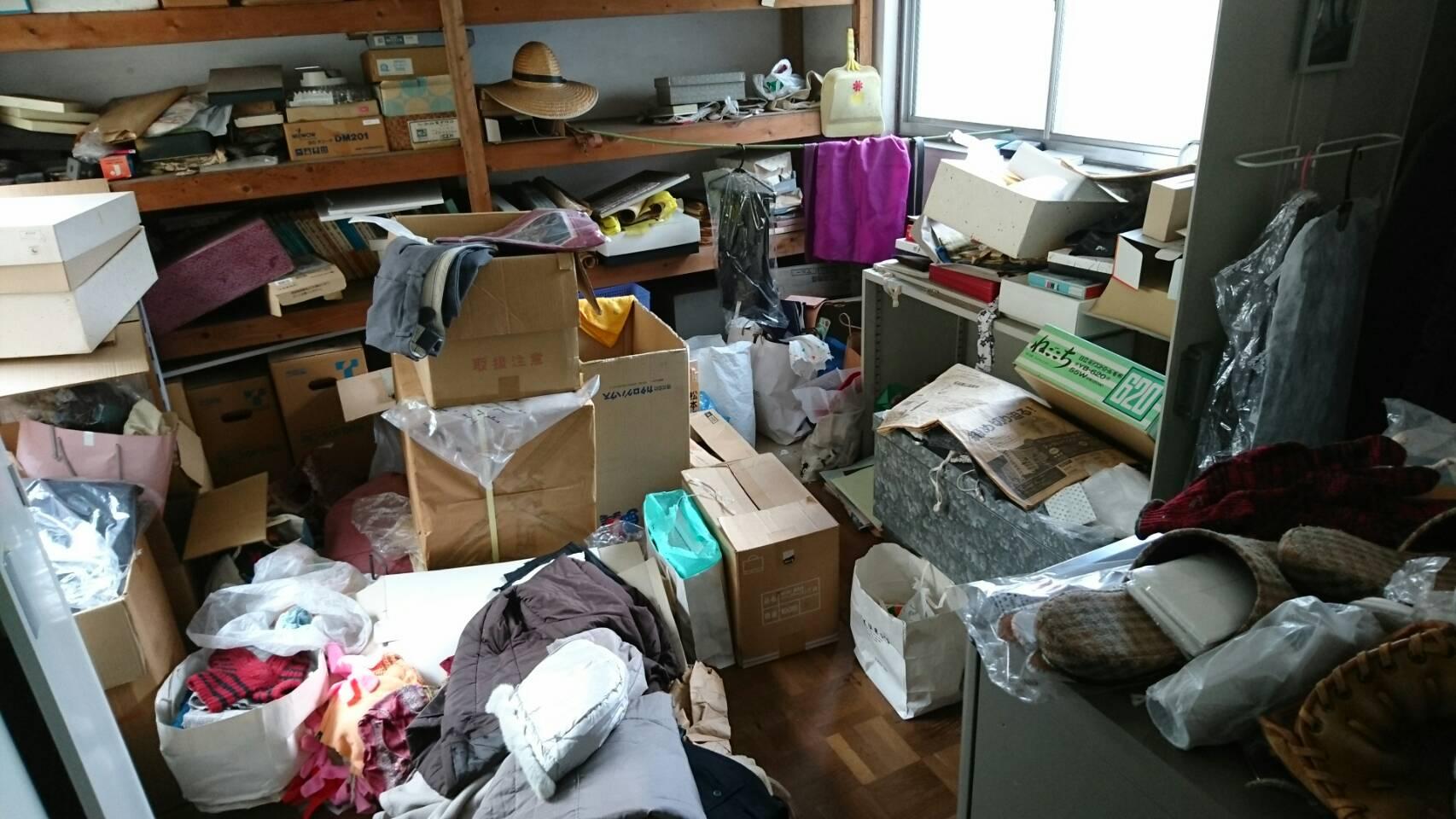 【愛知県名古屋市中川区】物置内の出張回収