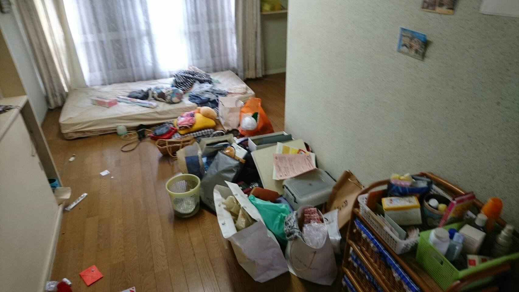 【愛知県名古屋市名東区】ベッドマットや小物類の回収