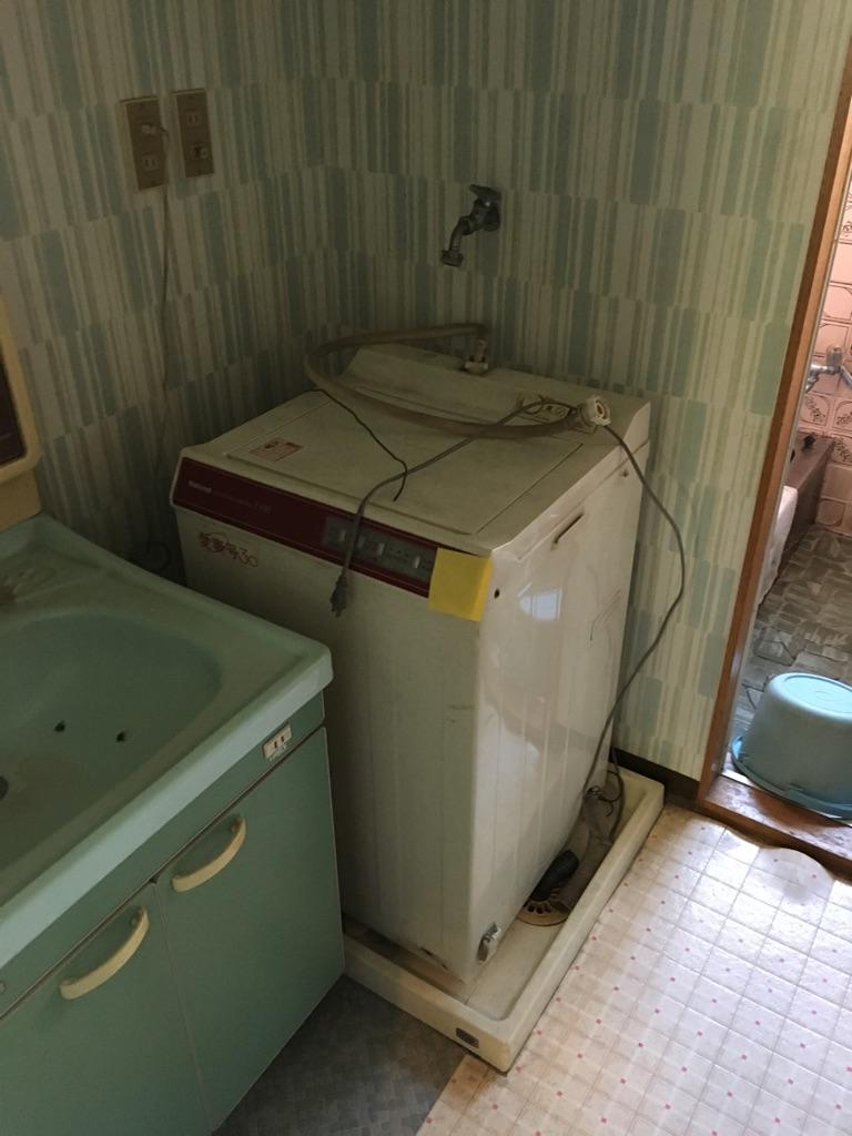 【愛知県名古屋市名東区】洗濯機の出張回収