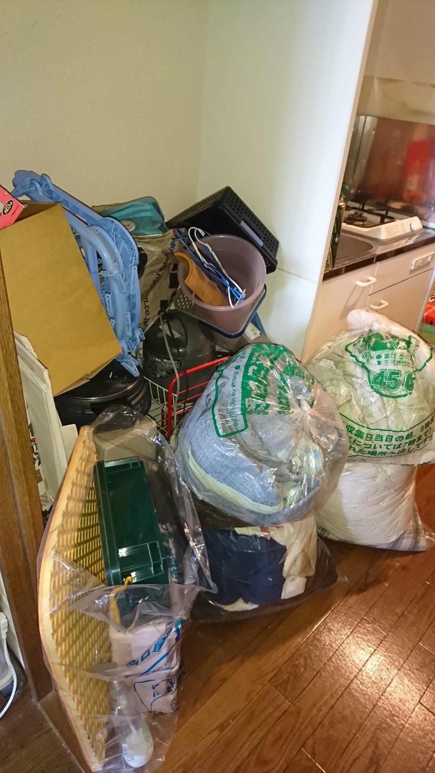 【愛知県名古屋市南区】生活不用品の出張回収