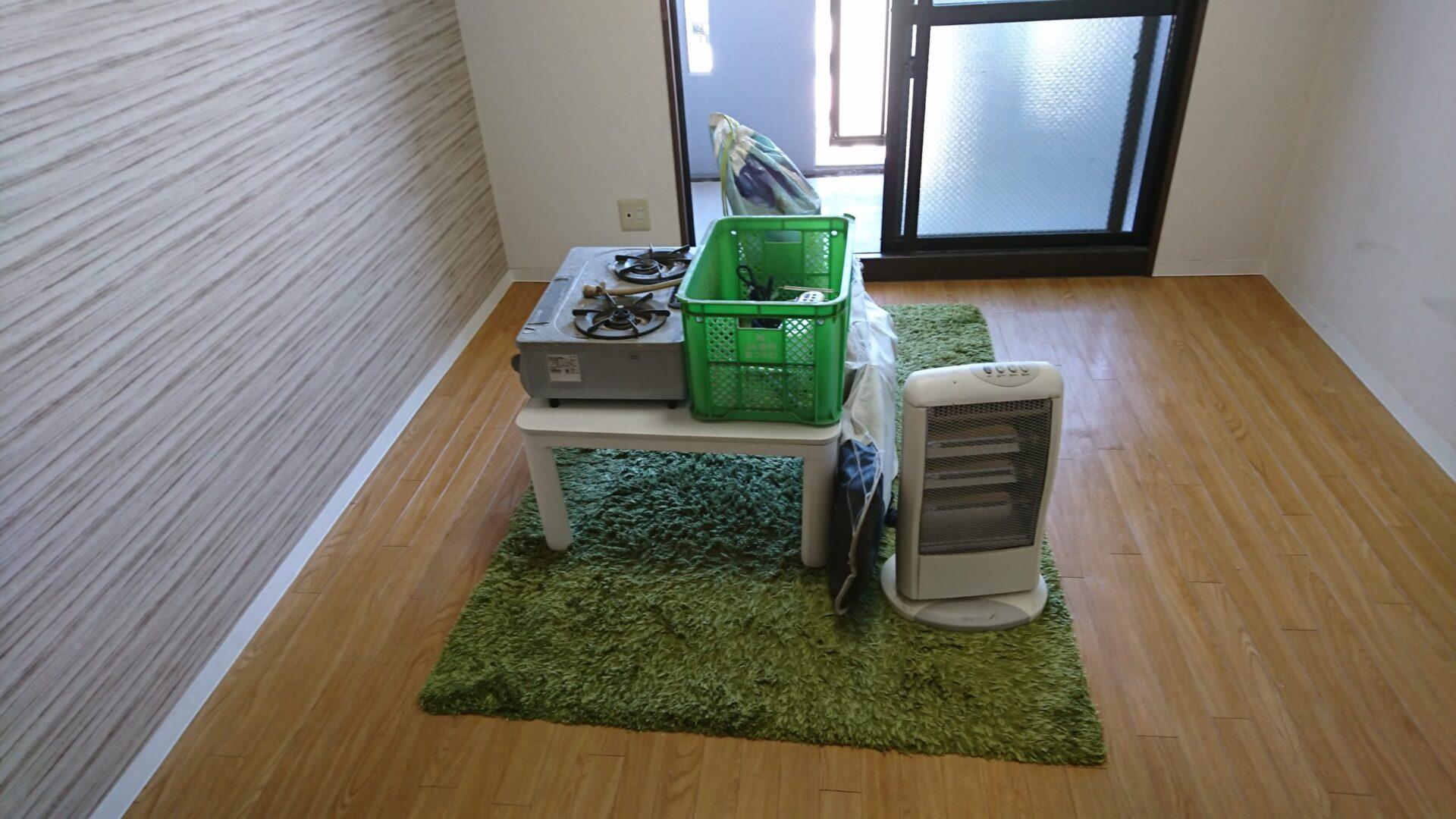 【愛知県名古屋市西区】ラグマットやこたつテーブルの出張回収
