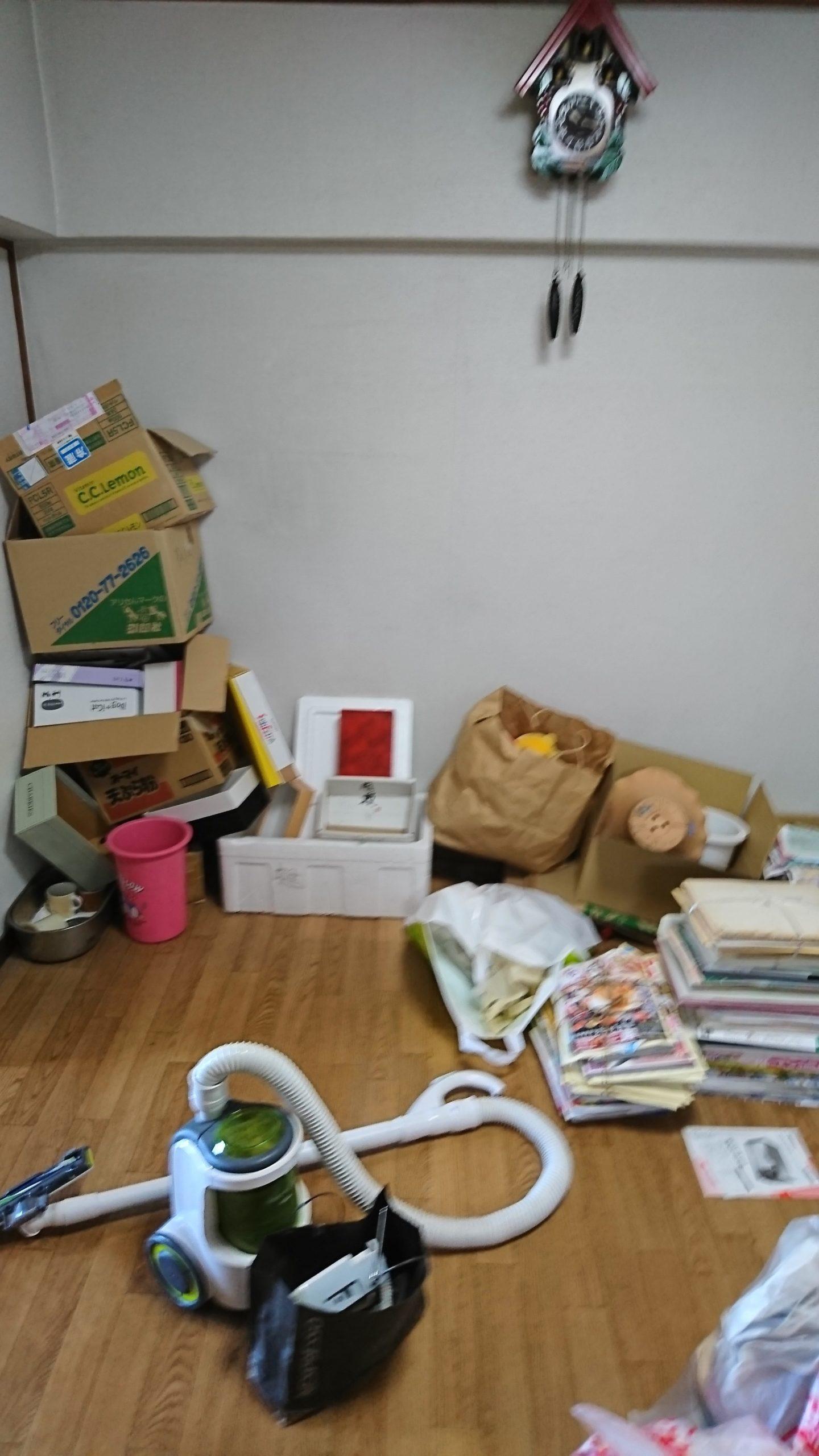 【愛知県名古屋市中村区】引っ越しに伴い段ボール類やチラシ類の出張回収