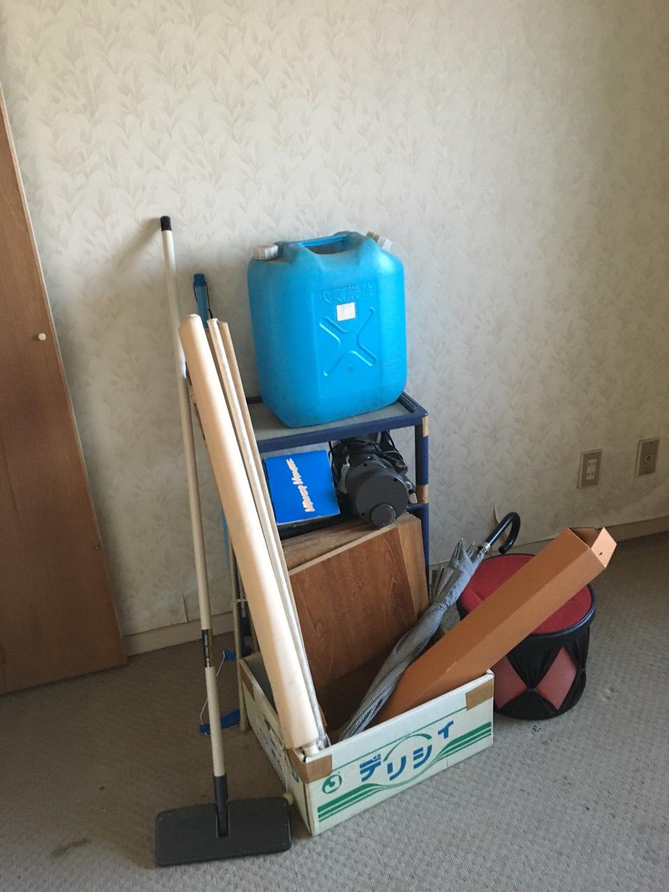 【愛知県名古屋市名東区】ポリタンクなどの不要品回収